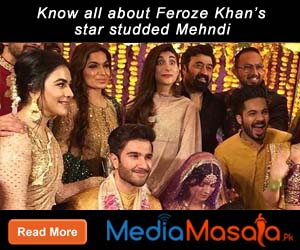 Know all about Feroze Khan's star studded Mehndi