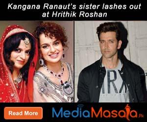 Kangana Ranaut's sister lashes out at Hrithik Roshan