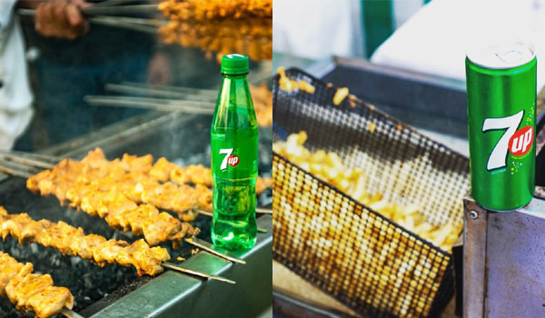 Delicious Food at 7UP Foodies Festival