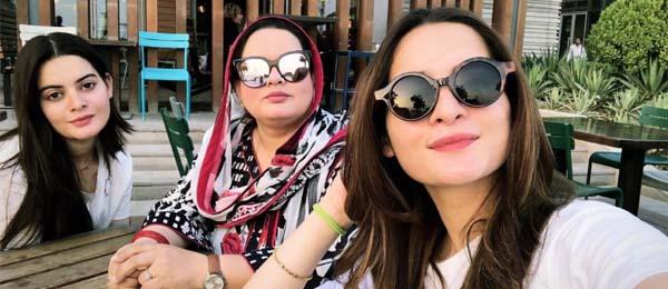 Aiman Khan & Minal Khan in Dubai
