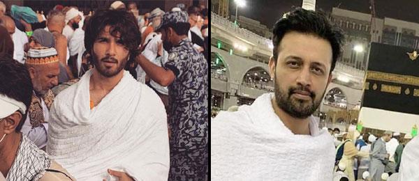 Ayeza Khan & Danish Taimoor performing Hajj