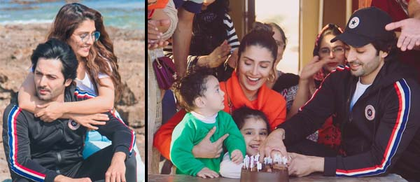 Ayeza Khan Birthday on a beach