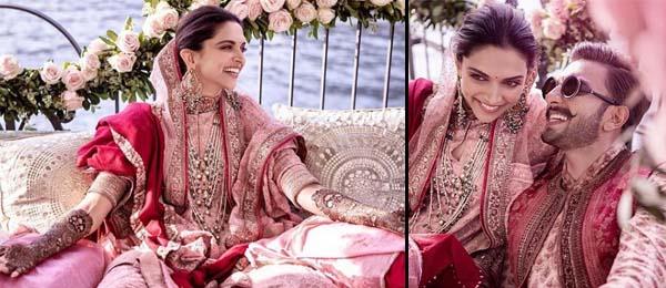 Deepika Padukone & Ranveer Singh mehndi pictures