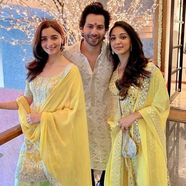 Alia & Varun on Diwali