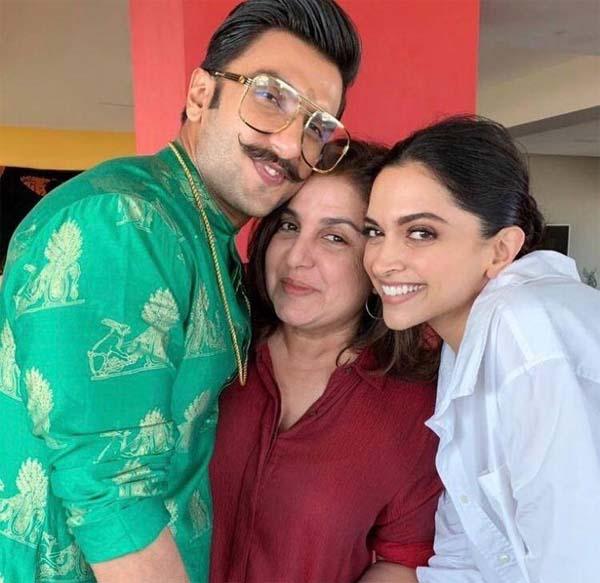 Deepika & Ranveer on Diwali