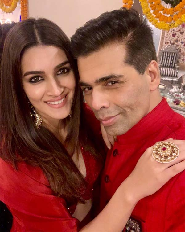 Karan & Kriti on Diwali