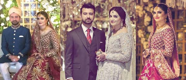 Fawad Khan at his sister's wedding with family