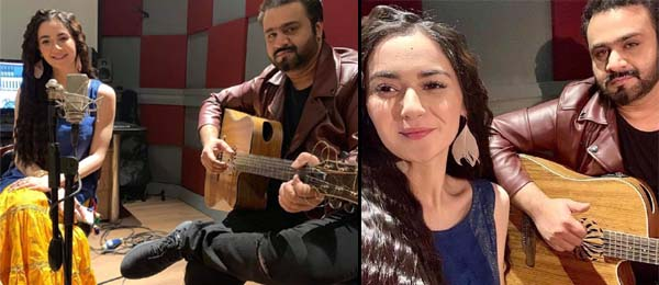 Hania Aamir recorded a song in he rvoice