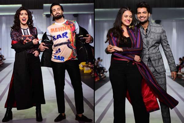 Mehwish Hayat, Azfar Rehman, Zara Noor Abbas at Hum Showcase 2019