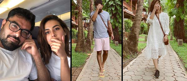 Iqra Aziz & Yasir Hussain on vacation in Phuket