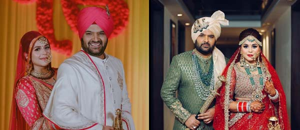 Kapil Sharma got married to his girlfriend Ginni