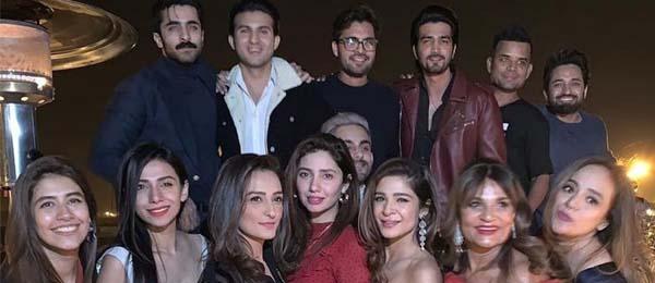 Pakistani celebrities on New Year 2019