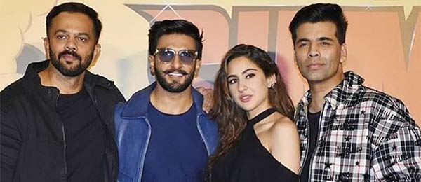 Ranveer Singh launches Simmba trailer