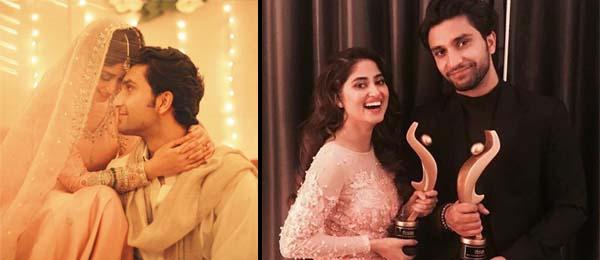 Sajal Ali & Ahad Raza Mir engaged