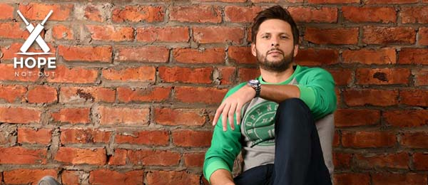 Shahid Afridi launched a clothing brand