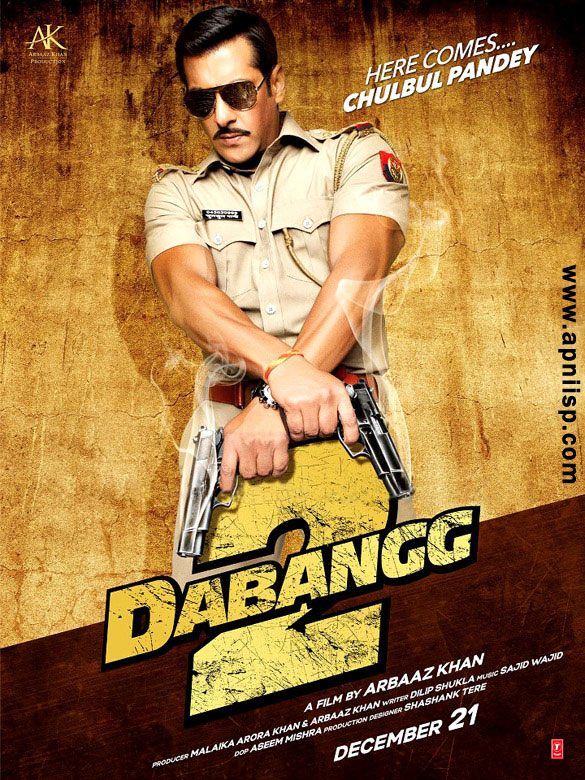 Check out first look posters  Dabangg 2 First Look Poster