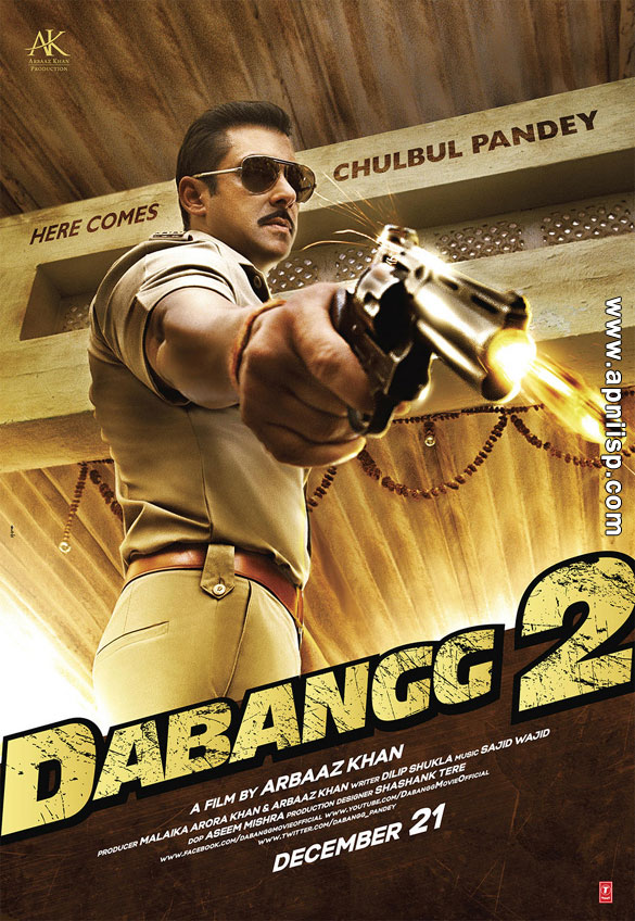 Look Posters of Dabangg 2  Dabangg 2 Album Art