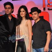Aamir, Katrina, Abhishek & Udhay at press conference of Dhoom 3