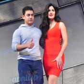 Aamir Khan & Katrina Kaif launches Dhoom 3 merchandise