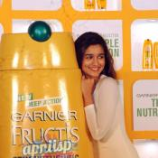 Alia Bhatt launches new Garnier Fructis shampoo