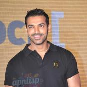 John Abraham unveil the 'Unlock' campaign of National Geographic