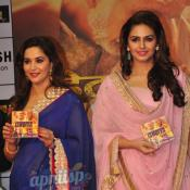 Madhuri Dixit & Huma Qureshi launches music of Dedh Ishqiya