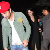 Ranbir & Katrina at screening of The Wolf of Wall Street