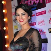 Sunny Leone at premiere of Jackpot