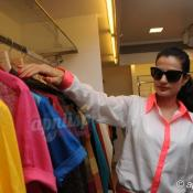 Zayed Khan & Amisha Patel at Shahid Amir new collection launch