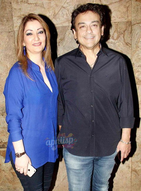 Adnan Sami Khan His Wife Attends Special Screening Of Dil Dhadakne
