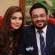 Aamir Liaquat with his new wife on TV