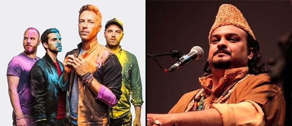 Coldplay pays tribute to late Amjad Sabri
