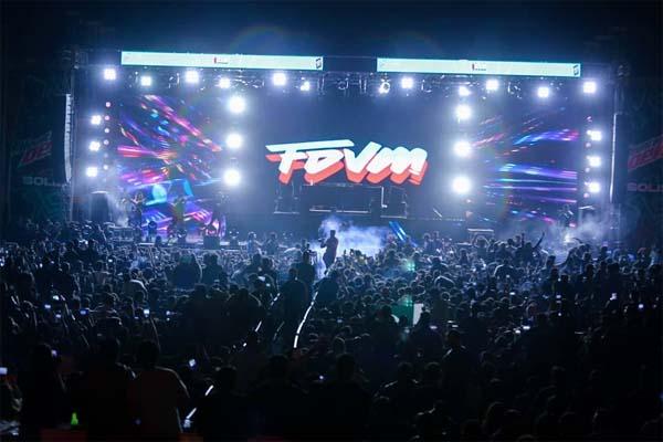 FDVM performing at Mountain Dew Solis Karachi