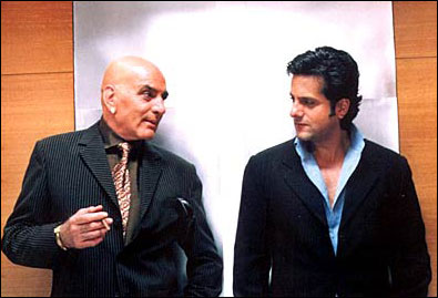 Image result for feroz khan with fardeen khan