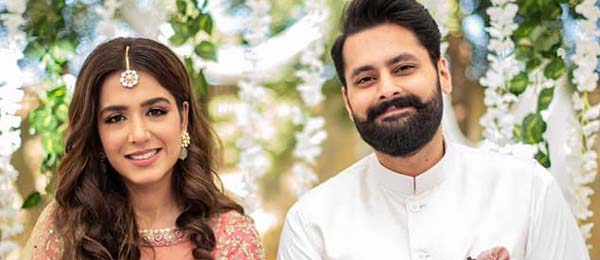 Mansha Pasha & Jibran Nasir are officially engaged