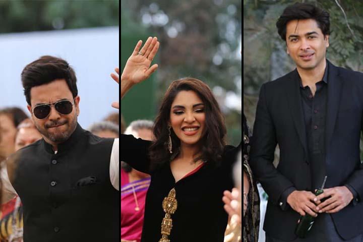 Junaid Khan, Zhalay Sarhadi & Shehzad Roy