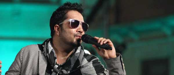 Bollywood singer Mika Singh in Karachi