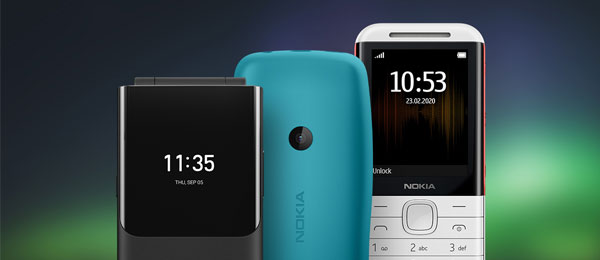 Nokia 5 simple mobile phones