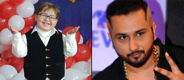Honey Singh wishes little Ahmed Shah on his Birthday