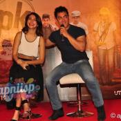Aamir Khan & Anushka Sharma at PK teaser launch