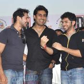 Abhishek Bachchan & Dino Morea at DM Fitness launch