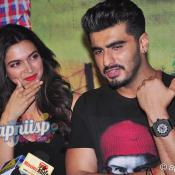 Deepika Padukone & Arjun Kapoor at the special screening of Finding Fanny