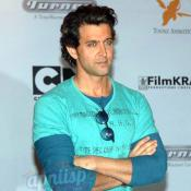 Hrithik Roshan at animated Kid Krrish press meet