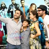 Karachi Se Lahore cast promotion at Cinepax