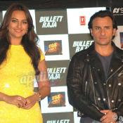 Saif Ali Khan & Sonakshi Sinha at Bullett Raja press conference
